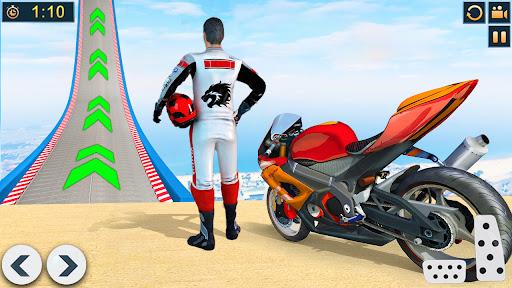 Bike Stunts Race 2021: Free Moto Bike Racing Games apkdebit screenshots 14