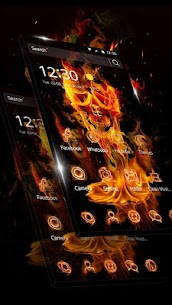 Fire Skull Fantastic Theme 1.1.3 Android APK [Unlocked] 2