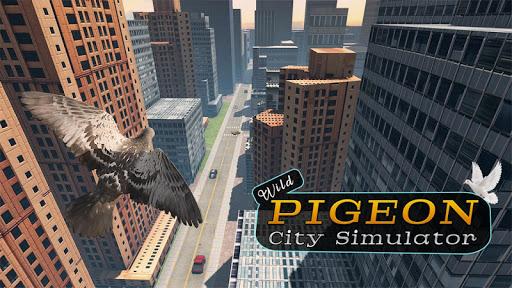 Wild Pigeon Bird City Simulator  Screenshots 1