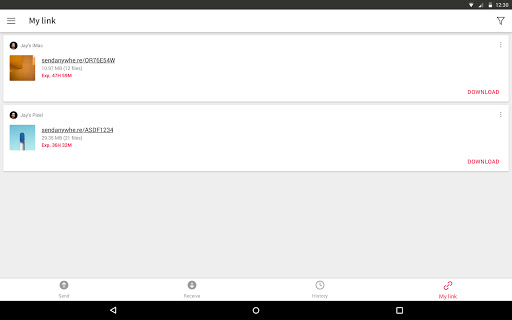 Send Anywhere (File Transfer) 21.6.3 Screenshots 13