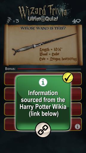 Harry Potter Wizard Quiz: U8Q 2.0.1 Screenshots 7