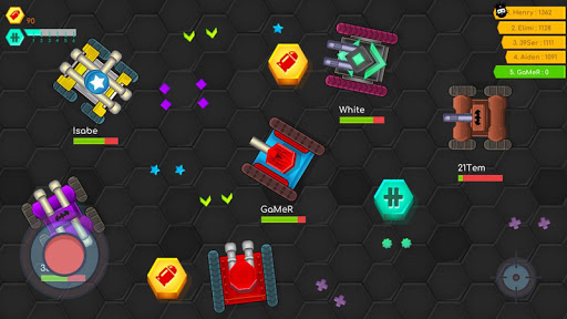 Tank War Battle .io - Multiplayer Games 4.5 screenshots 14
