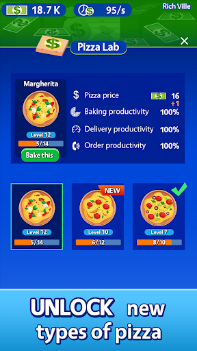 Idle Pizza Tycoon - Delivery Pizza Game android2mod screenshots 5