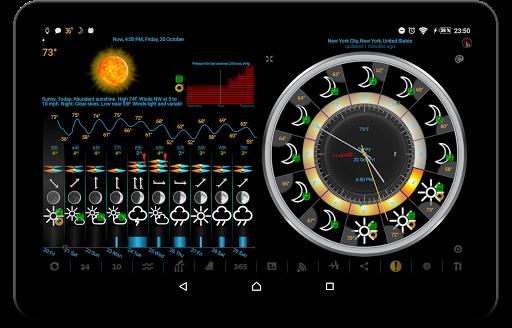 Weather app & widget with barometer: eWeather HDF  Screenshots 11