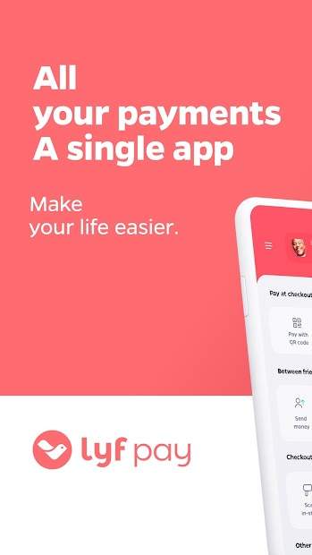 Lyf Pay : mobile payments Android App Screenshot