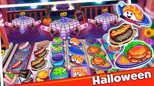 Halloween Madness : Cooking Games Food Fever apkslow screenshots 4