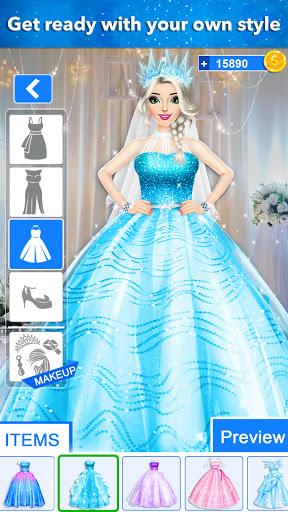 Ice Princess Wedding Dress up 0.25 screenshots 1
