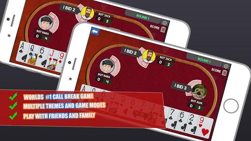 Call Break Card Game -Online Multiplayer Callbreak  Paidproapk.com 3