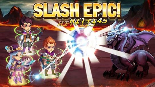 Slash Saga – Swipe Card RPG 1.3.4 APK + MOD (Unlocked) 3