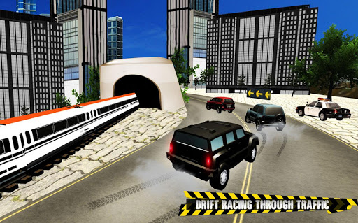Train vs Prado Racing 3D: Advance Racing Revival modavailable screenshots 12