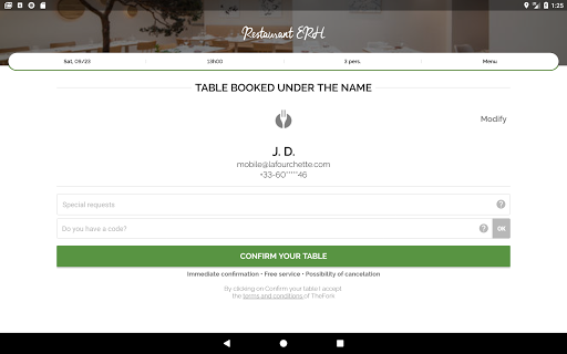 TheFork - Restaurants booking and special offers 17.2.1 Screenshots 10