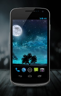 Dream Night Free LiveWallpaper Screenshot
