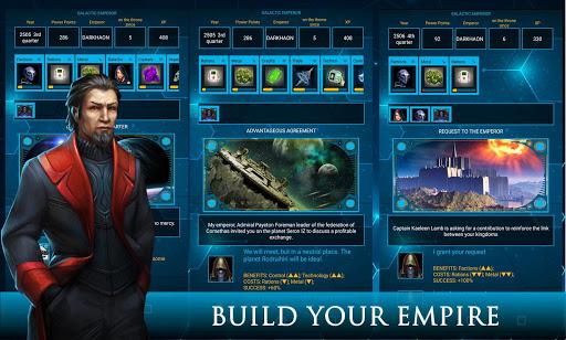 galactic emperor: space strategy & rpg, sci-fi screenshot 2