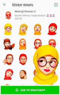 Memoji Islamic Muslim Stickers for WhatsApp