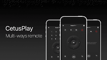 screenshot of Fire TV Universal Remote Android TV KODI CetusPlay