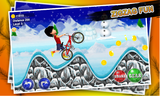Shiva Winter Biking Tales Screenshot