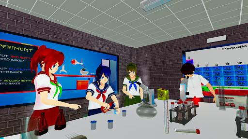 Anime High School Life Days Yandere Girl Simulator screenshots 17