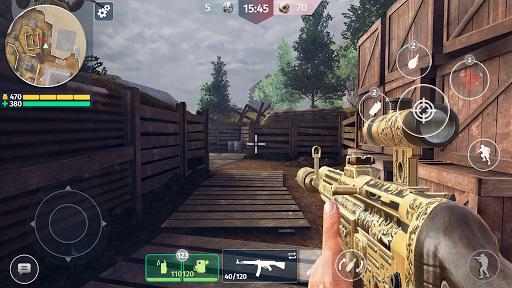 World War 2 - Battle Combat (FPS Games) apktreat screenshots 2