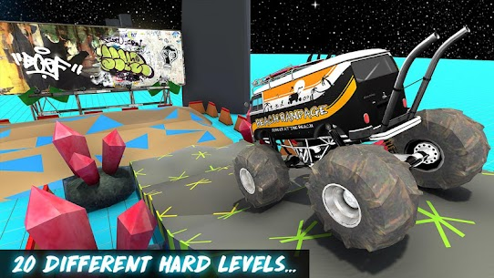 Monster Car vs Trucks: Offroad Trials – APK + MOD Download 3