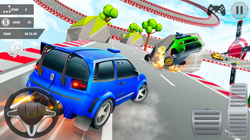 Mega Ramp Car Stunts 3D: Free Ramp Car Games 2021 screenshots 6