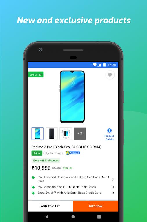 Flipkart Online Shopping App poster 2