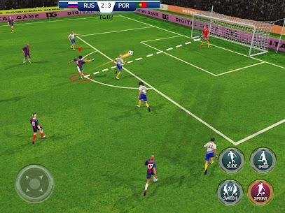 Stars Soccer League: Football Games Hero Strikes 10