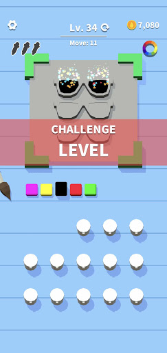 Flip Coloring - Hyper Casual Puzzle Game (Offline) screenshots 2