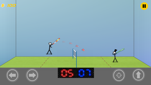 Stickman Badminton:Passion League Game  screenshots 3