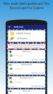 Maths Cash - Earn Paypal Cash & Free Money Coupons 7.2