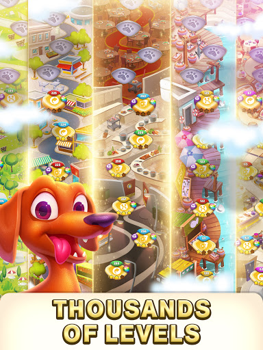 Solitaire Pets Adventure - Free Solitaire Fun Game  screenshots 14