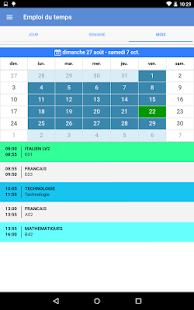 Mon EcoleDirecte 3.0.1 Screenshots 11
