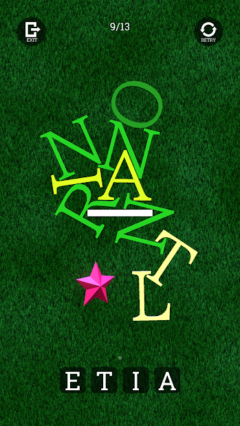 hanging all letters screenshot 3