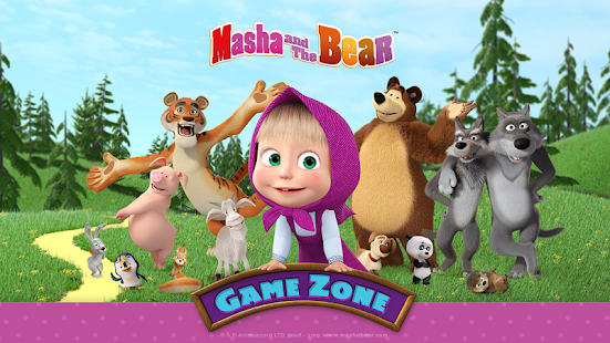 Masha and the Bear - Game zone Screenshot