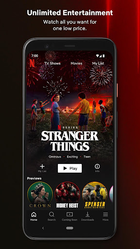 Netflix 7.80.0 build 10 35175 screenshots 1