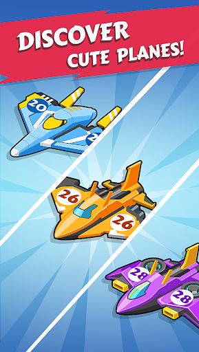 Merge Planes - Best Idle Relaxing Game  screenshots 4