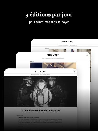 Mediapart, journal indu00e9pendant  Screenshots 7