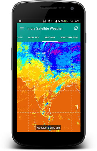 India Satellite Weather 5.0.6 Screenshots 4