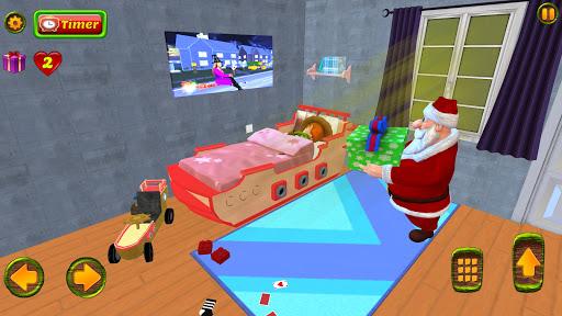Santa Christmas Infinite Track screenshots 4