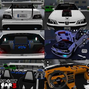 Sport car 3 : Taxi & Police -  drive simulator 1.02.030 screenshots 1