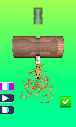 Télécharger Gratuit Wood Turning Game | Stress Busting Lathes Vertical apk mod screenshots 1