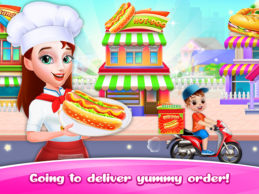 Hot dog Maker & Delivery game apkpoly screenshots 12