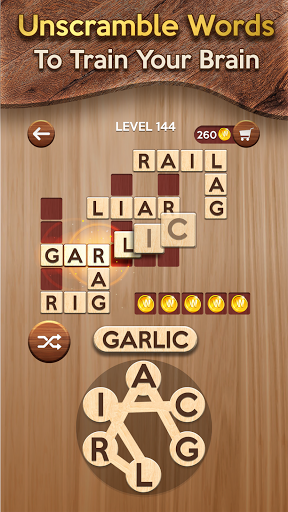Woody Cross ® Word Connect Game 1.1.2 screenshots 2