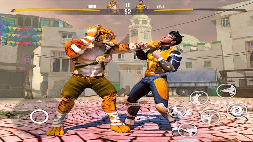 Kung fu fight karate Games: PvP GYM fighting Games  screenshots 14