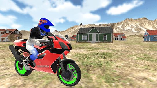 Gerçek motorsiklet yarışı-polis oyunu 2019 Apk Son Sürüm 2021 3