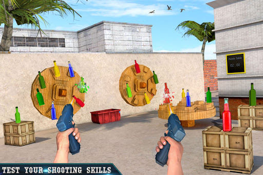 Real Bottle Shooting Free Games: 3D Shooting Games 20.6.0 screenshots 2