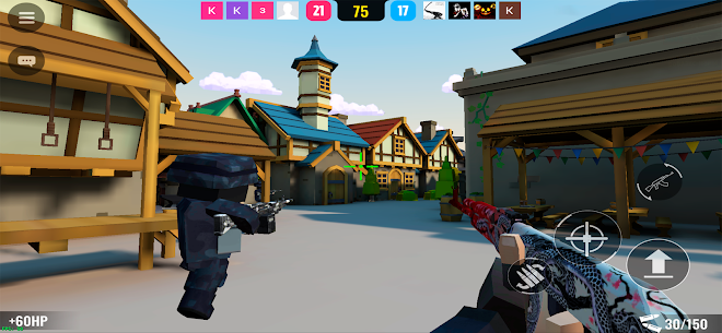 BLOCKFIELD – 5v5 Shooter Mod Apk 0.9811 (God Mode) 6