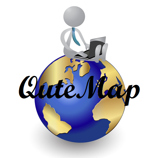 Qute Map For PC Windows (7, 8, 10 and 10x) & Mac Computer