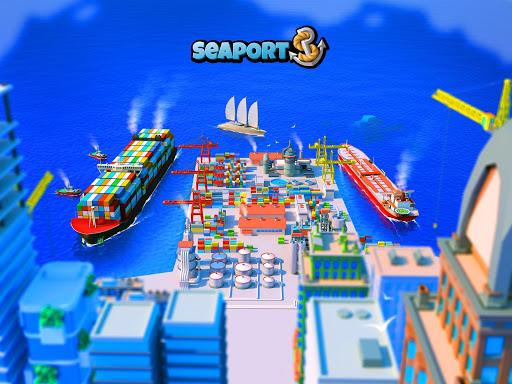 Sea Port: Cargo Ship & Town Build Tycoon Strategy 1.0.149 screenshots 8