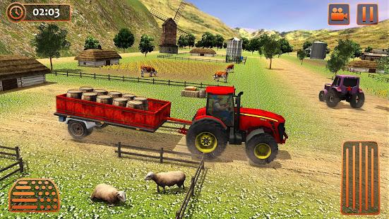 Farm Tractor Cargo Driving Simulator 20 screenshots 13