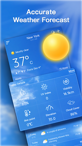 Live Weather Forecast: Accurate Weather For PC Windows (7, 8, 10, 10X) & Mac Computer Image Number- 5